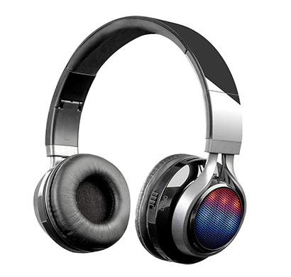 zebronics disc bluetooth headphone (black)