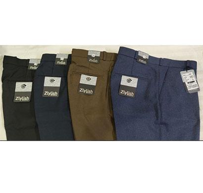 zlylish matty mens cotton formal trouser