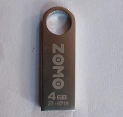 zomo usb pen drive metal 4gb