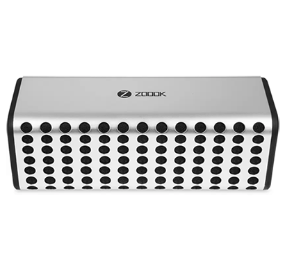 zoook zb-boombastic 10 w portable bluetooth speaker silver (black, 2.1 channel)