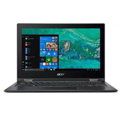 acer spin 1 sp111-33-p6f0 (un.h0vsi.001) 2 in 1 laptop (pentium quad core/4 gb ram/500 gb hdd/windows 10 home/11.6 inch/ 1.35 kg), black