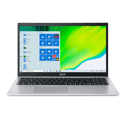 acer aspire 5 a515-56-54fn (nx.a1gsi.002) laptop (intel core i5/ 11th gen/ 8gb ram/ 512gb ssd/ windows 10 home/ 15.6 inch/ intel iris xe graphics/ 1 year warranty) silver