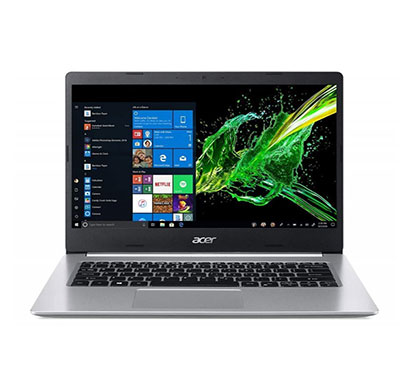 acer aspire 5 a514-53 (nx.hussi.005) thin and light laptop (intel core i3-1005g1/ 10th gen/ 4gb ram/ 1tb hdd/ windows 10 home/ intel uhd graphics/ 14 inch display/ 1 year warranty) pure silver