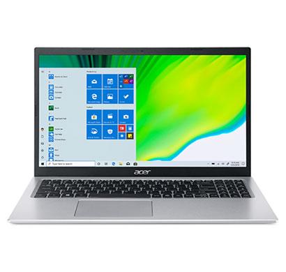 acer aspire 5 a515-56 (un.a1gsi.004) laptop (intel core i3-1115g41 / 11th gen/ 4gb ram / 1tb hdd/ windows 10 home + ms office/ 15.6 inch/ 1 year warranty ), pure silver