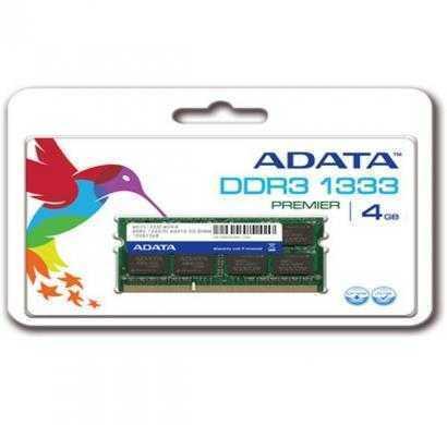 adata ddr3 4 gb (1 x 4 gb) laptop ram (ad3s1333c4g9-r)