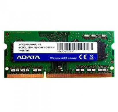 adata ddr3 4 gb (1 x 4 gb) laptop ram (adds1600w4g11-r)