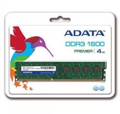 adata ddr3 4 gb (1 x 4 gb) pc ram (ad3u1600c4g11-r)