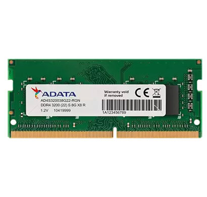 adata (ad4s320038g22-rgn) ddr4 8gb 3200mhz laptop memory