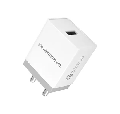ambrane aqc-56 3.0 quick charge 18 w 3 a mobile charger