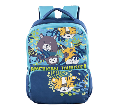 american tourister unisex polyester back to school casual backpack tiddle 03 (blue)