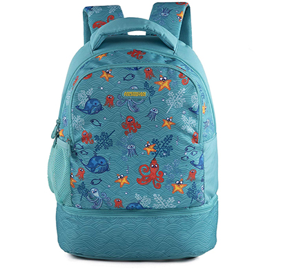 american tourister back to school backpack tiddle 02 coral blue