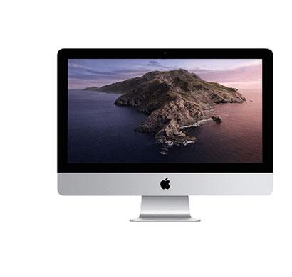 apple imac (mhk03hn/a) all-in-one desktop (intel core i5-7360u/ 7th gen/ 8gb ram/ 256gb ssd/ intel iris plus graphics 640/ 21.5'' screen/ mac os), white
