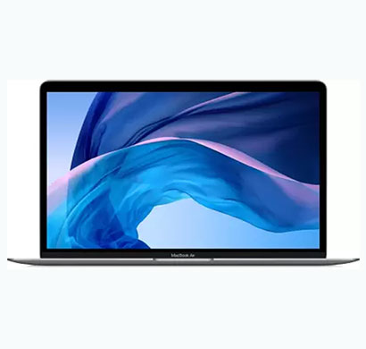 apple macbook air (mwtj2hn/a) thin and light laptop (intel core i3 /10th gen/8 gb ram/256 gb ssd/mac os catalina/13.3 inch/1.29 kg/1 year warranty),space grey
