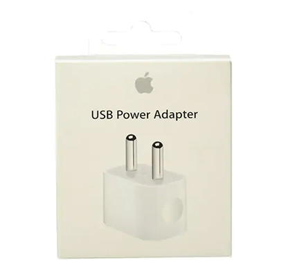apple (ml8m2hn/a) 5w usb power adapter (white)