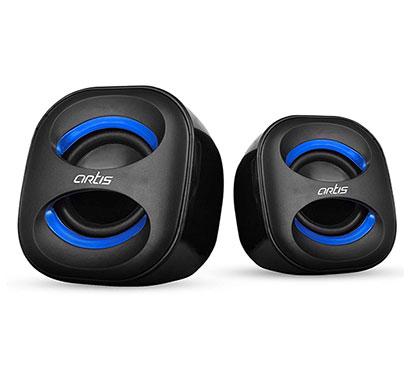 artis mini 2.0 usb multimedia speakers