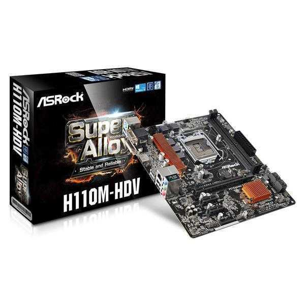ASRock H110M-HDV/M