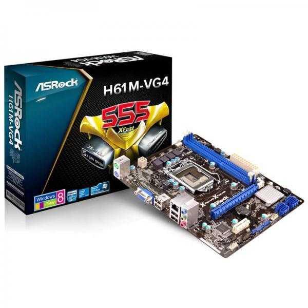 ASRock H61M-VG4 Motherboard