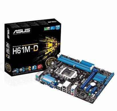 asus h61m-d lga1155 micro atx motherboard (parallel port + com port ready) for 2nd/3rd generation pr
