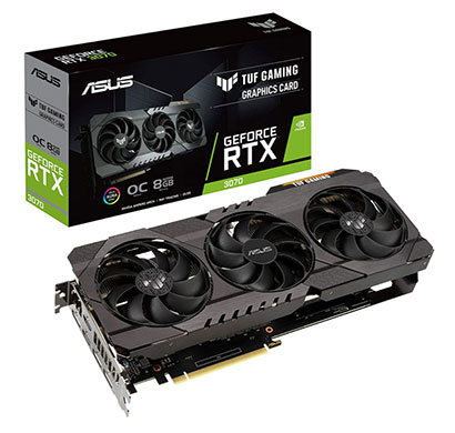 asus tuf geforce rtx3070 gaming oc 8gb gddr6 graphics card