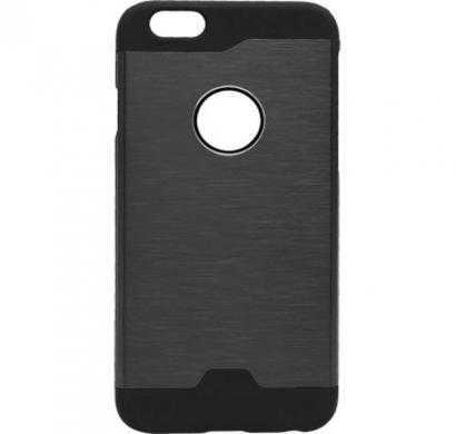 auxio back cover for apple iphone 6 (black)