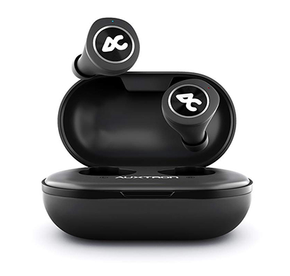 Auxtron AirBolt 505 True Wireless (TWS) Earbuds - Silver + Black