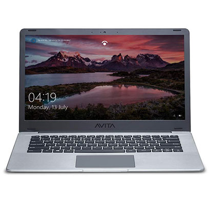 avita pura 14 (ns14a6int441-sggyb) 14-inch laptop (intel core i3-8145u / 8th gen / 4gb ram/ 256gb ssd/ windows 10 home/ 2 years onsite warranty), space grey with 3-in-1 grey sleeve