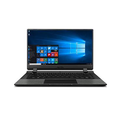 avita essential (ne14a2inc44a-mb) laptop (intel celeron-n4020/ 4gb ram/ 256gb ssd/ windows 10 home/ integrated graphics/ 14-inch/ 2 years warranty), black