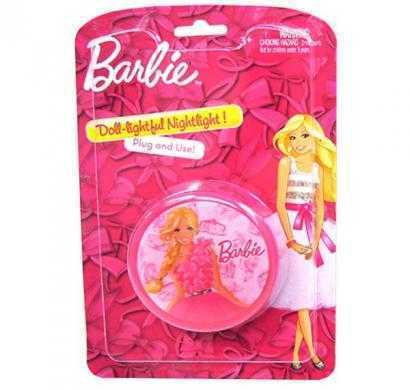 barbie round wall nightlight