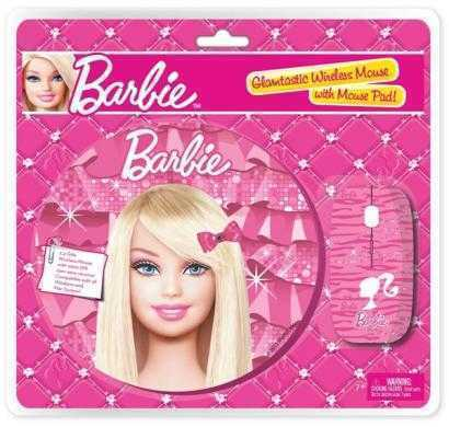 barbie wireless mouse & mouse pad combo