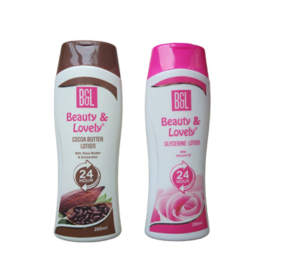 beauty & lovely cocoa butter lotion 200ml