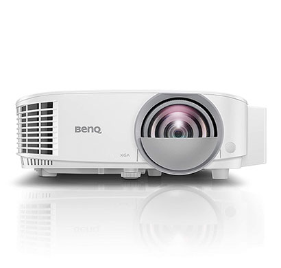 benq dx808st short throw digital projector, dustproof, dlp projection, xga 1024x768, 3000 ansi lumen, keystone adjustment, upto 15,000 hours lamp life, hdmi