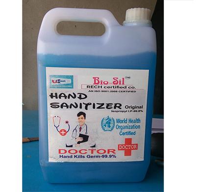 bio sil doctor plus hand sanitizer 5 liters