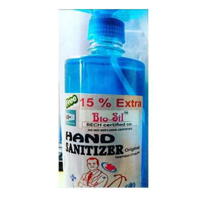 bio sil doctor plus hands sanitizer 500ml