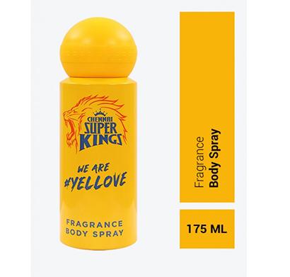 chennai super kings (cskp1) fragrance body spray