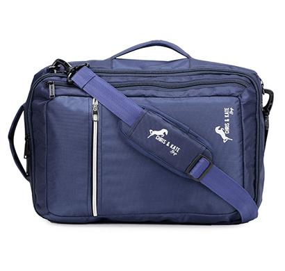 chris & kate ( ckb_296dm) unisex messenger bag (blue)