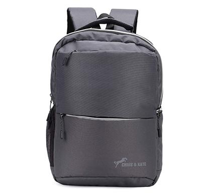 chris & kate ( ckb_314ho) polyester comfortable backpack ( grey)