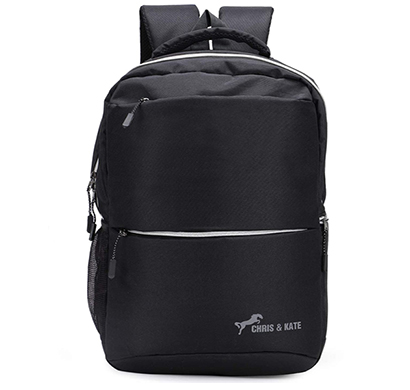 chris & kate ( ckb_312ho) polyester comfortable backpack ( black)