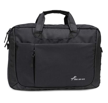 chris & kate ( ckb_196ma) polyester 16 cms laptop bags