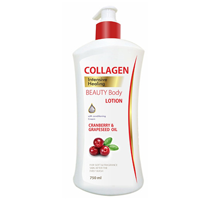 collagen cranberry & grapeseed oil body lotion