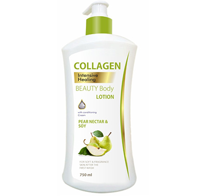 collagen pear nectar & soy body lotion 750ml