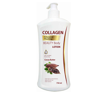 collagen cocoa butter body lotion