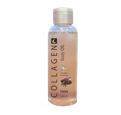 collagen cocoa body oil 120ml