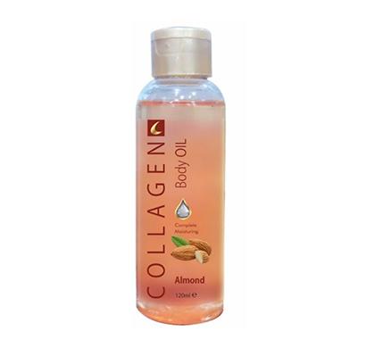 collagen almond body oil 120ml