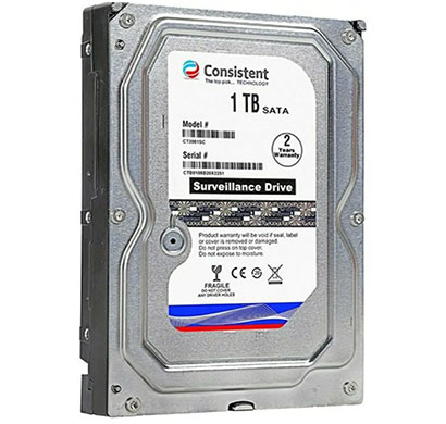 consistent ct (ct3001sc) tb surveillance systems internal hdd