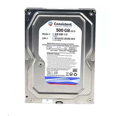 consistent (ct3500sc) 500gb sata desktop internal hard disk drive