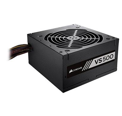 corsair vs series, vs500, 500 watt (500w), power supply