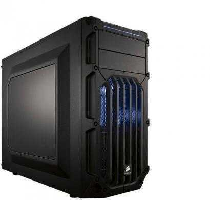 corsair carbide series spec 03 with blue led fan atx mid tower gaming case