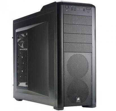 corsair cc-9011011-ww carbide series 400r steel mid-tower case (black)