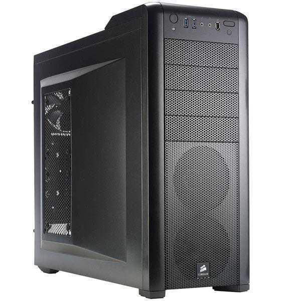 Corsair CC-9011011-WW Carbide Series 400R Steel Mid-Tower Case (Black)