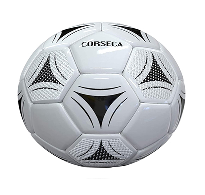 corseca (dmsf32) orb football portable bluetooth wireless sports speaker (10w, white)